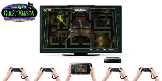 Luigi's Ghost Mansion