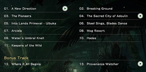FFXI: Seekers of Adoulin Soundtrack Tracklist Revealed