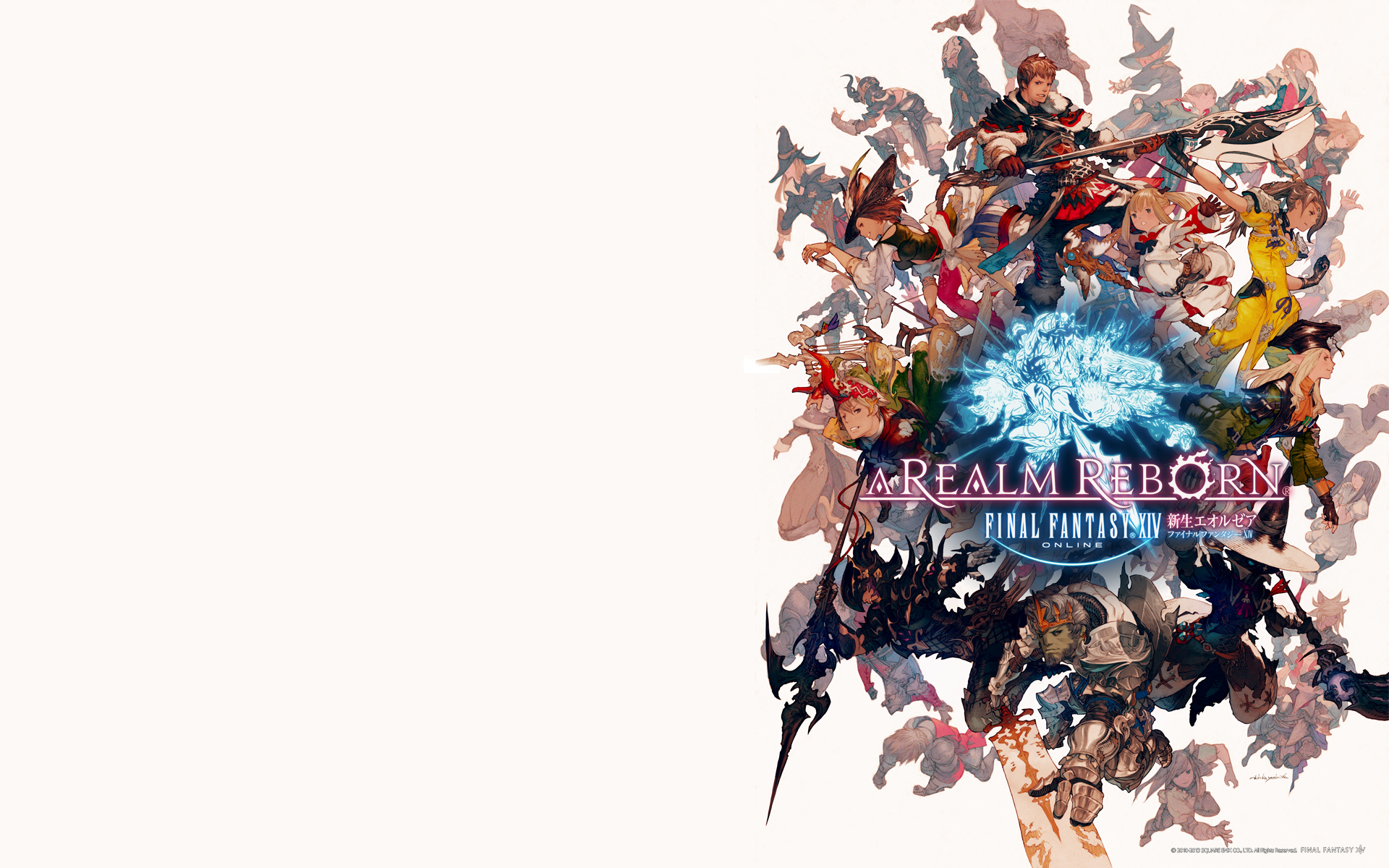 Gamer escape new white mage image revealed in ie10 site - Ffxiv wallpaper 1080p ...