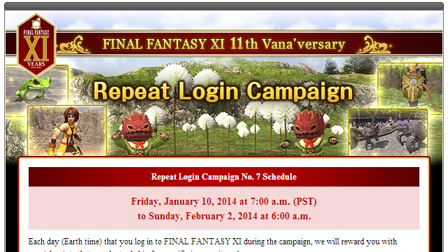 Repeat Login Campaign No  7 Appears on the Horizon! – Gamer Escape
