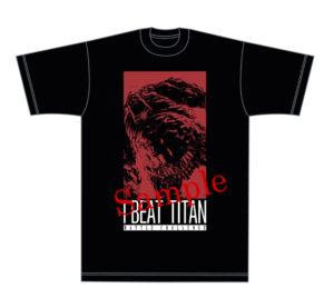 Titan shirt front - sample