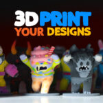 Monstermatic - Make and Print Monsters