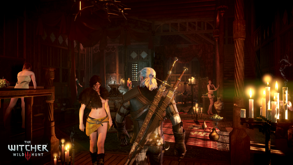 The Pleasure House is Back - An Example of a place in Novigrad.