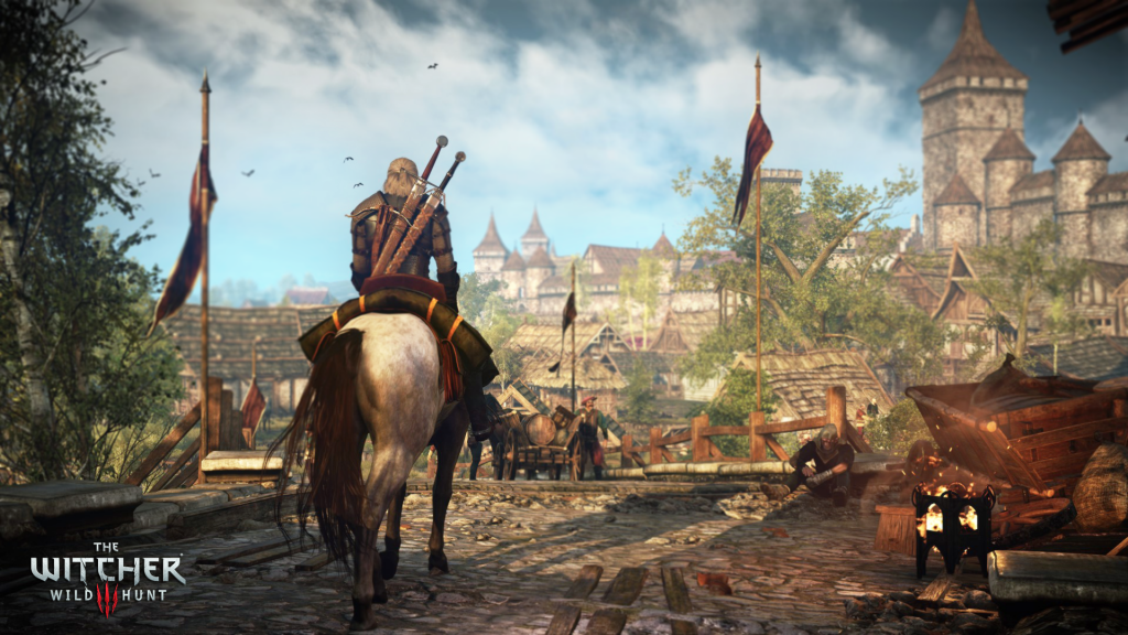 Novigrad - and it appears that you can travel anywhere in it as its unzoned and seemless. Impressive!