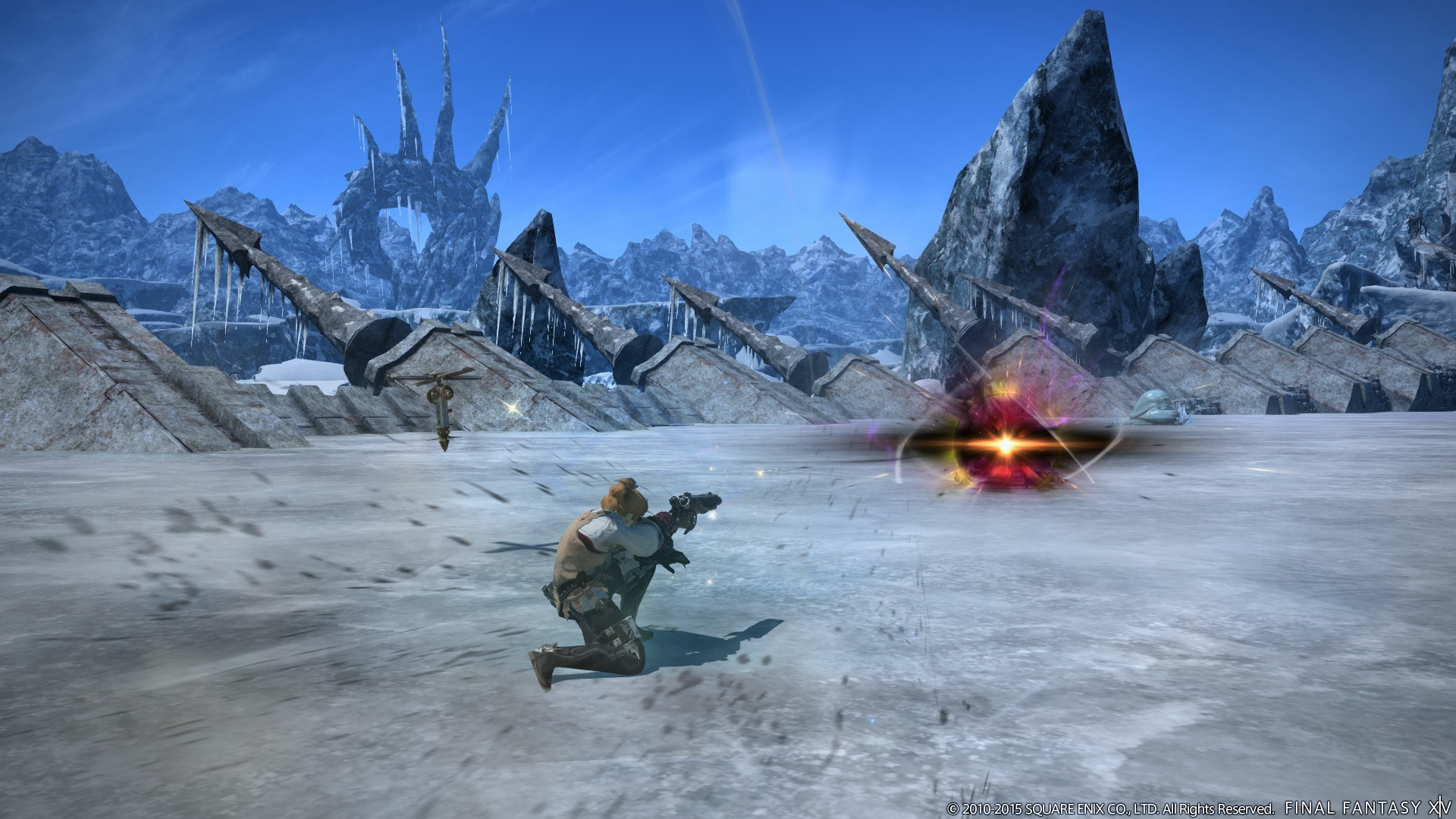 New Job Abilities and Dungeons Shown For FFXIV Heavensward