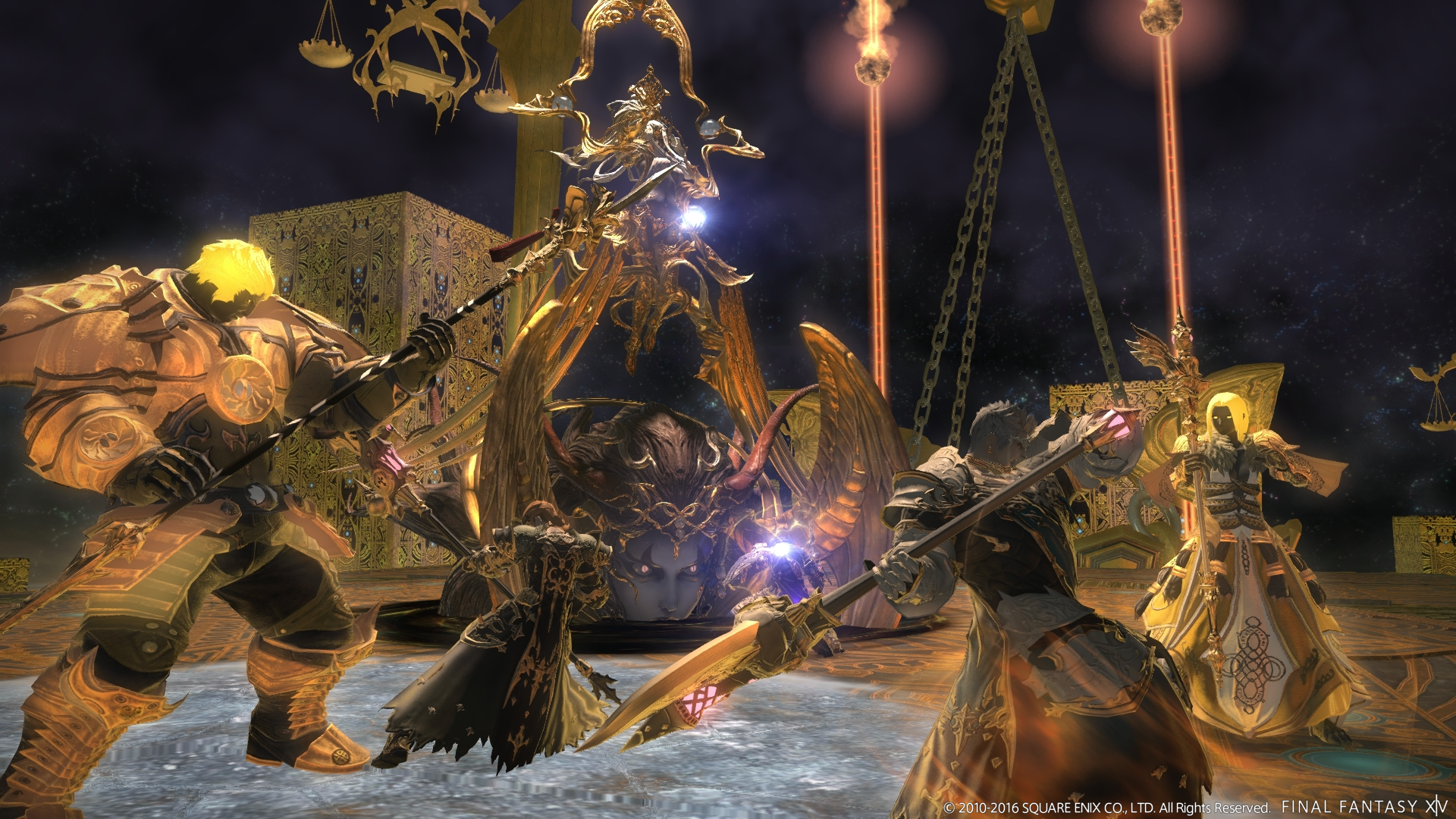 Alexander, Mullets and More Previewed For FFXIV Patch 3 4 – Gamer