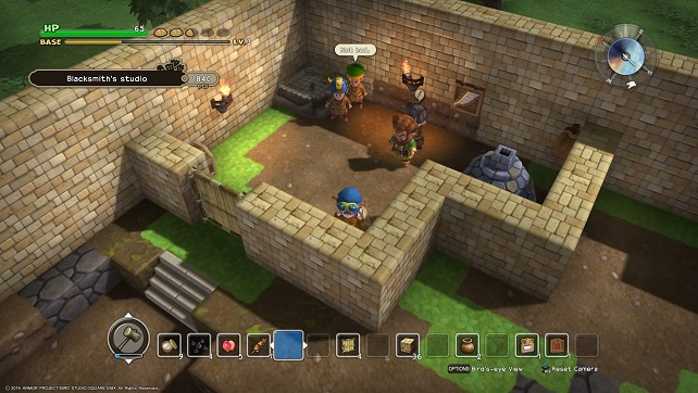 Dragon Quest Builders Rooms