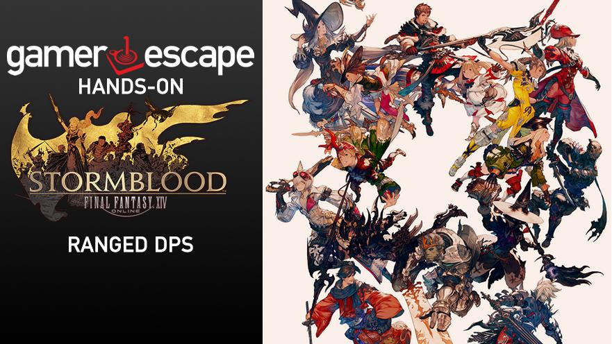 ffxiv stormblood role analysis ranged dps gamer escape