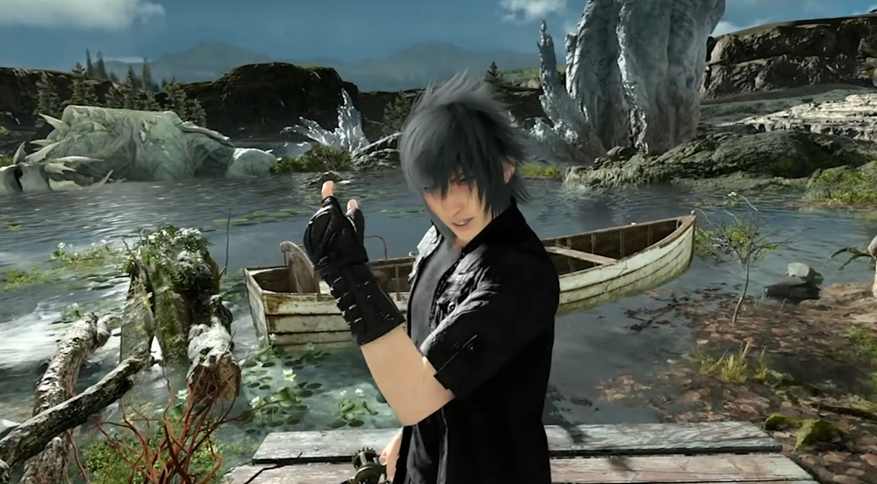 final fantasy xv receiving a vr fishing spinoff gamer escape