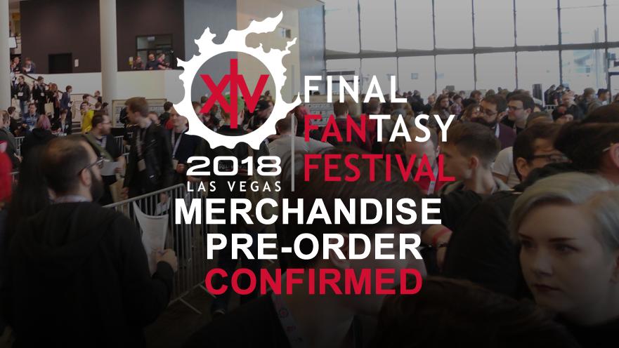 Merchandise Pre-Order Confirmed For NA FFXIV Fan Fest