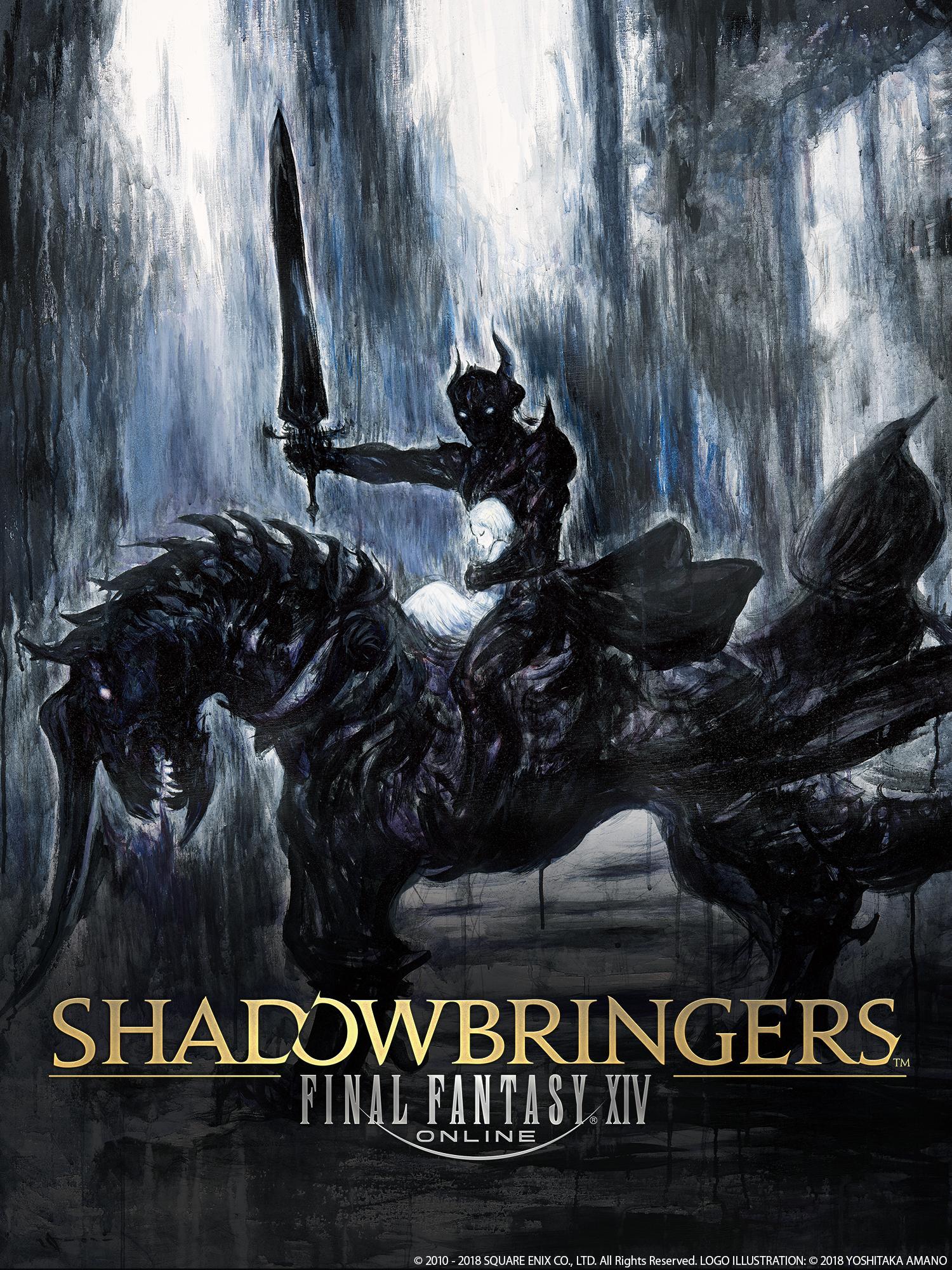 Shadowbringers Artwork by Yoshitaka Amano