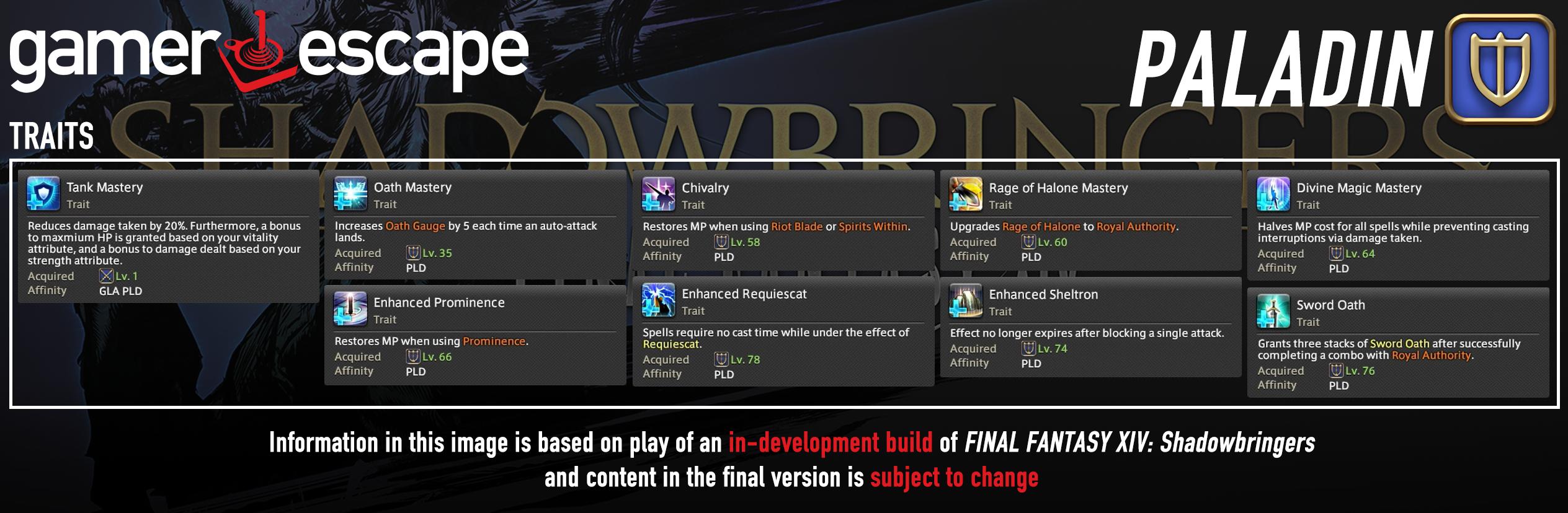 Final Fantasy XIV: Shadowbringers Hands-On with Paladin – Gamer