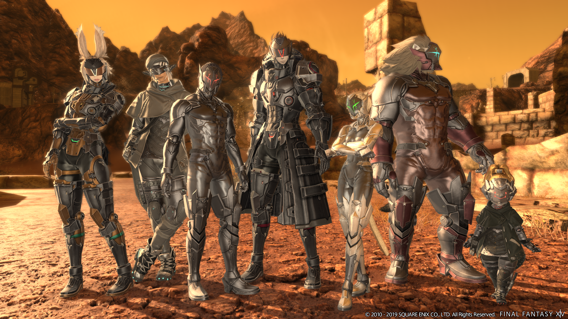 A New Batch Of Images Released Ahead Of Final Fantasy Xiv Patch