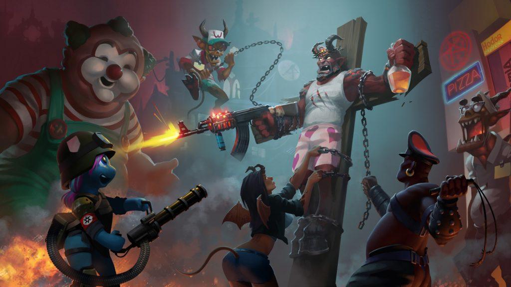 Review Bdsm Big Drunk Satanic Massacre Gamer Escape Gaming